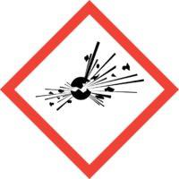 GHS01 Gefahrenpiktogramm