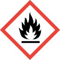 GHS02 Gefahrenpiktogramm