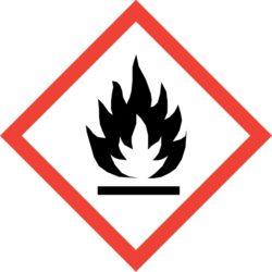 GHS02 Výstražné symboly nebezpečnosti CLP