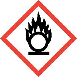 GHS03 Výstražné symboly nebezpečnosti CLP