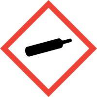 GHS04 Gefahrenpiktogramm