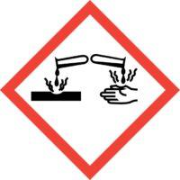 GHS05 Gefahrenpiktogramm