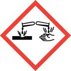 GHS05 Výstražné symboly nebezpečnosti CLP