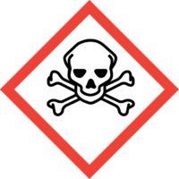 GHS06 Výstražné symboly nebezpečnosti CLP