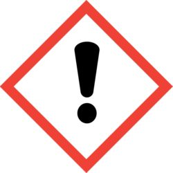GHS07 Výstražné symboly nebezpečnosti CLP