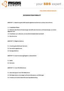 Kurzbeschreibung Flussiges Neutrales Schaumdesinfektionsmittel